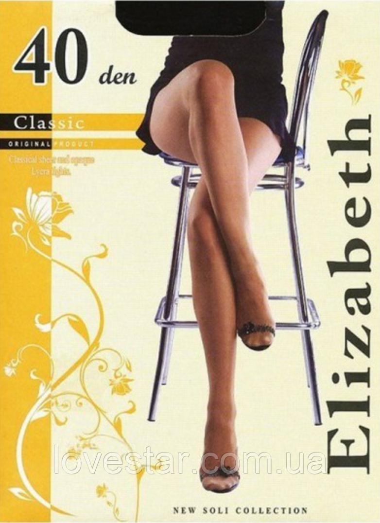 Колготки Elizabeth 40 den classic  6 черная
