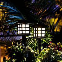 Японский газонный светильник на солнечной батарее, CAB121