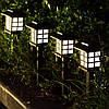 """Газонный светильник на солнечной батарее, 5шт/упак """"Японский стиль"""""""