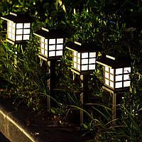 """Газонный светильник на солнечной батарее, 5шт/упак """"Японский стиль"""", фото 1"""
