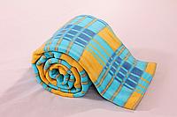 Одеяло клетчатое детское (100% хлопок) Vladi