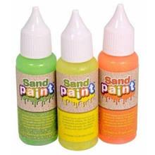 Краски Sand Paint неоновые цвета с блестками
