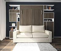 Механизм  для шкаф кровать диван 1300N-2200N коричневый, фото 1