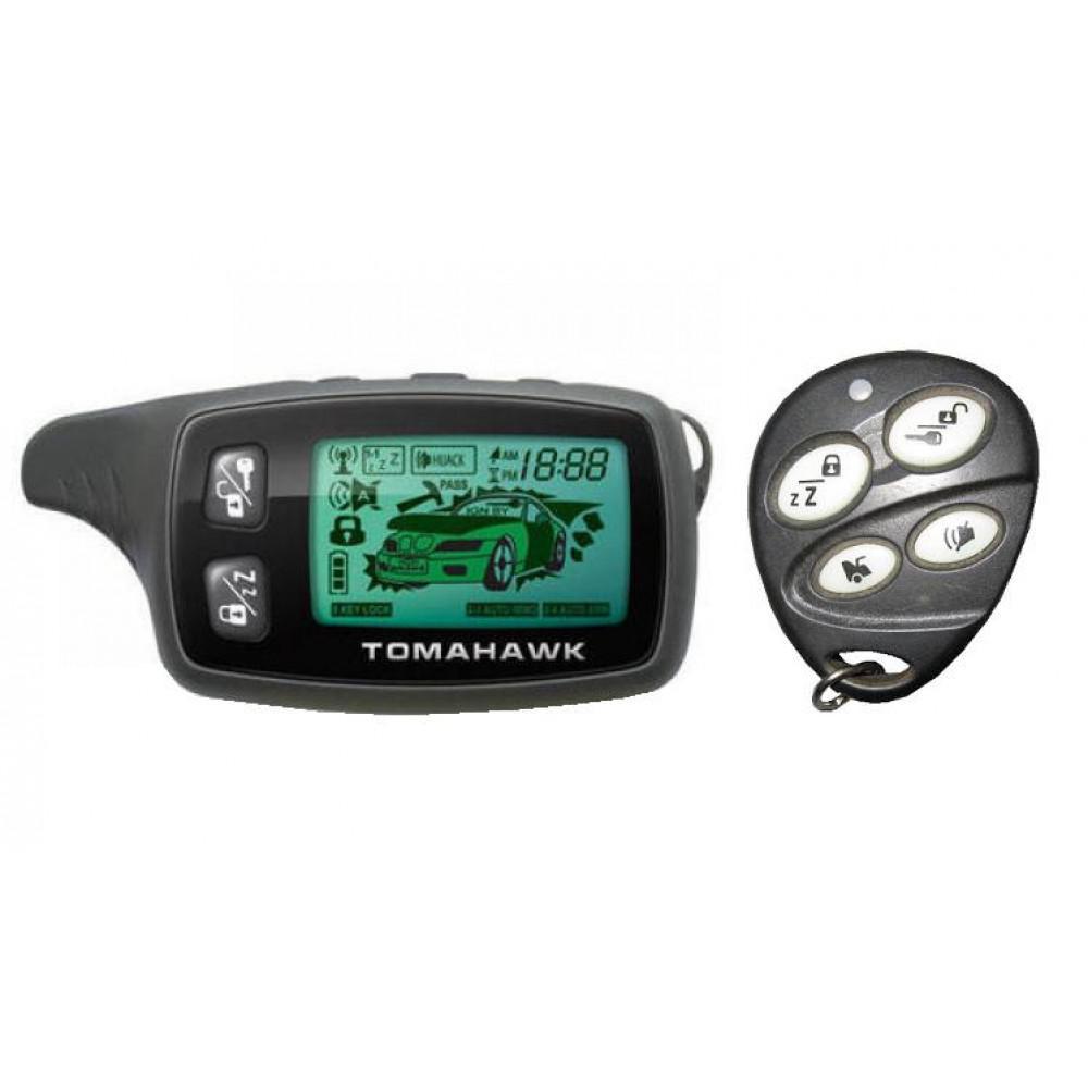 инструкция на сигнализацию томагавк tw-9010