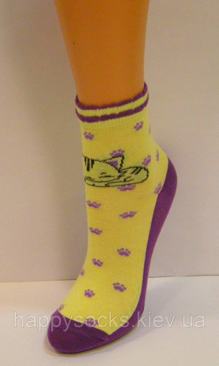 Яркие детские носки с рисунком