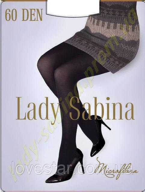 «Lady Sabina» 60 Den Microfibra 3 Черная
