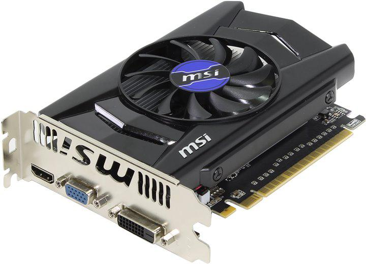"Видеокарта MSI GTX 750 Ti 2048MB DDR5 128bit N750Ti-2GD5/OCV1 ""Over-Stock"""
