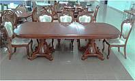 Стол Р22 классический деревянный 2000(+500)х1100х780 цвет орех, фабрика Daming