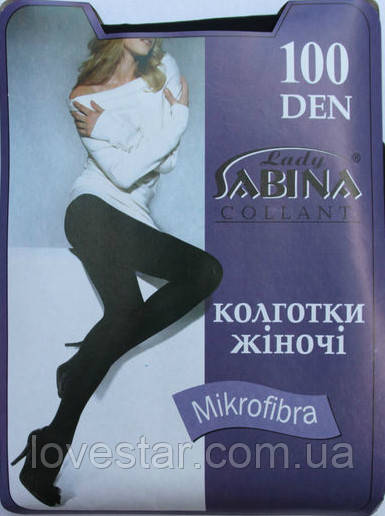 «Lady Sabina» MICROFIBRA 100 Den 2 Черная