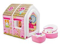 Детский надувной игровой домик Intex 48635