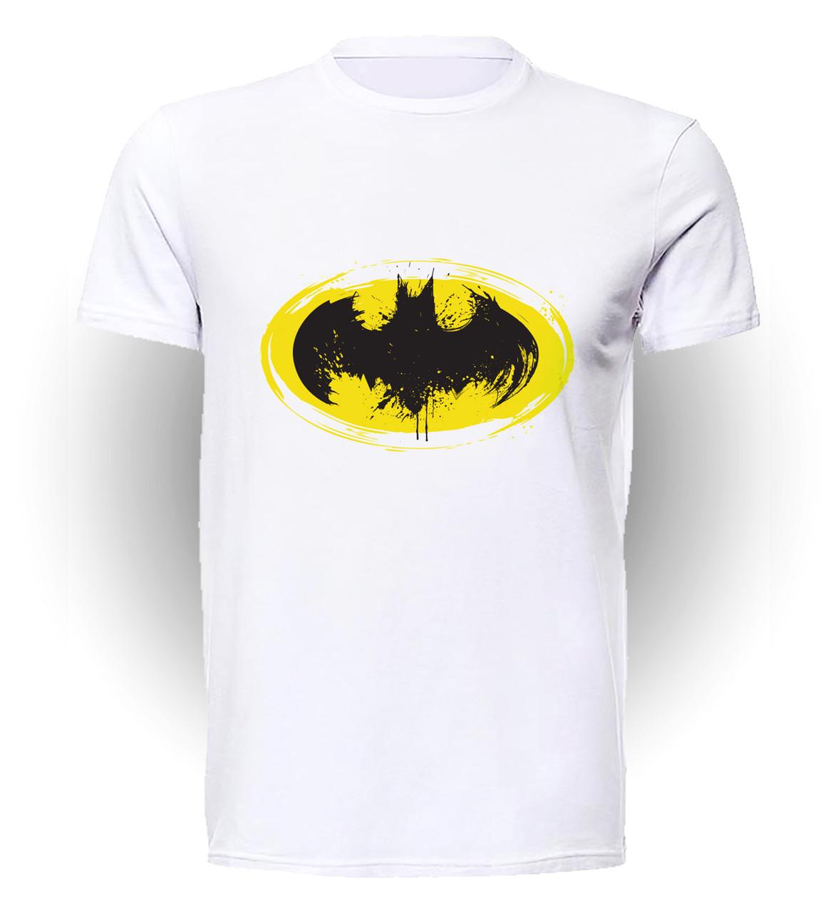 Футболка GeekLand Бэтмен Batman bat logo BM.01.101