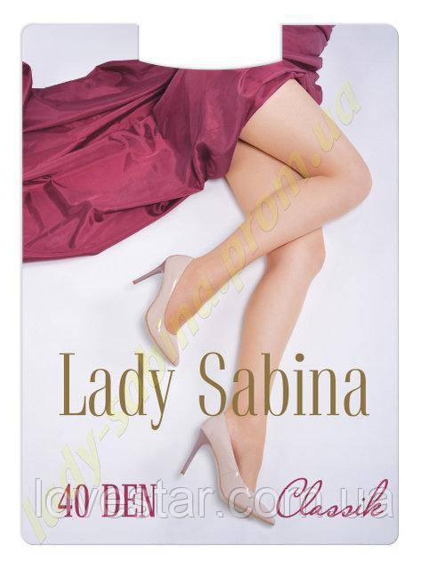 «Lady Sabina classic» 40 Den 4 Antracite