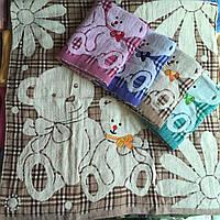 Полотенце лицо махра+лен 50*100