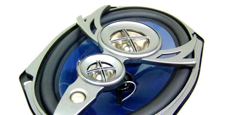 """Автомобильная акустика 6""""х 9"""" (15 х 23см) 4 х полосная коаксиальная .BM Boschmann XLR-9948E"""