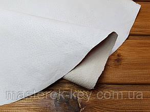 Кожа стелечная воскованная цвет белый
