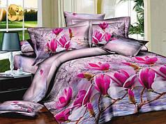 Семейный набор хлопкового постельного белья из Ранфорса №362 Черешенка™