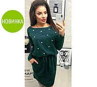 "Платье из ангоры ""Мартина"" с карманами, фото 1"