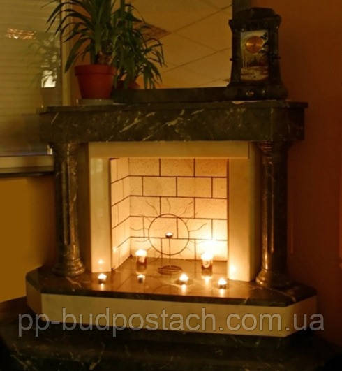 Декоративний камін в квартирі