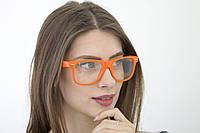 Очки для стиля  оранжевые (1028-20)