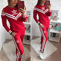 """Женский стильный костюм """"Adidas"""" (2 цвета)"""