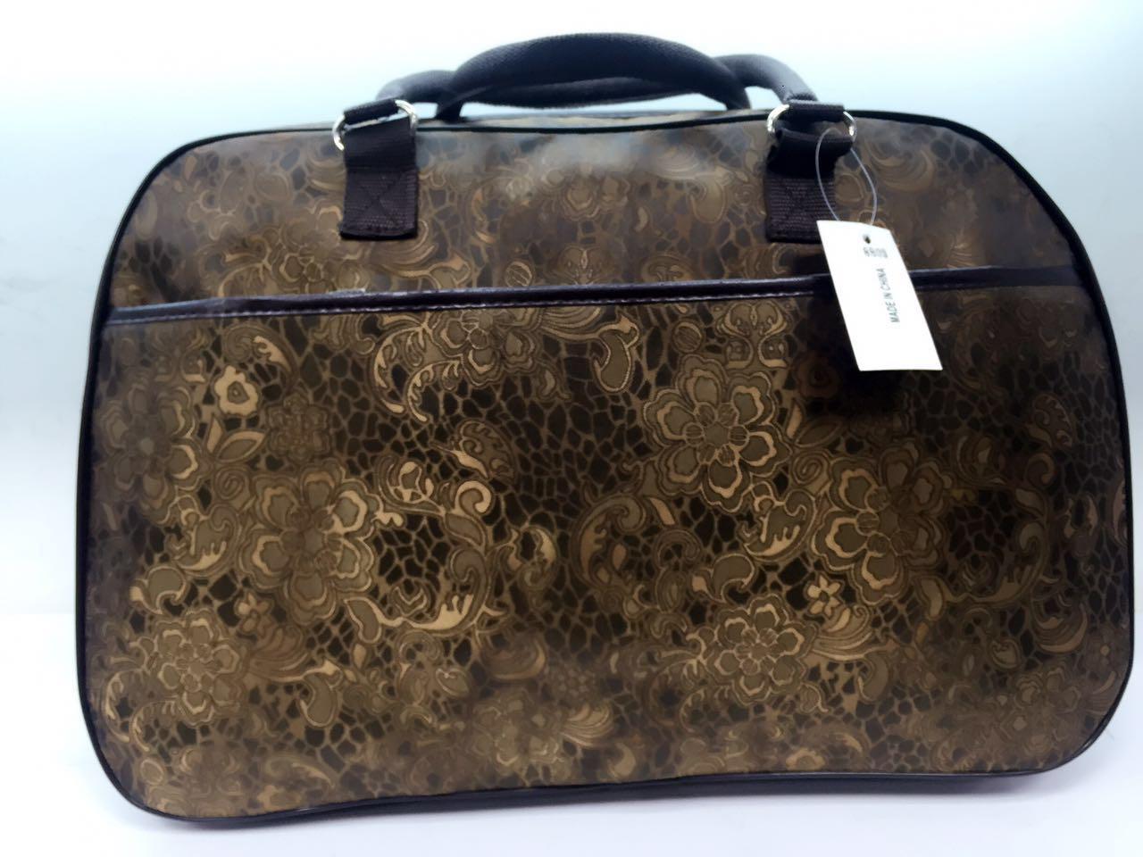 Дорожная сумка текстильная унисекс