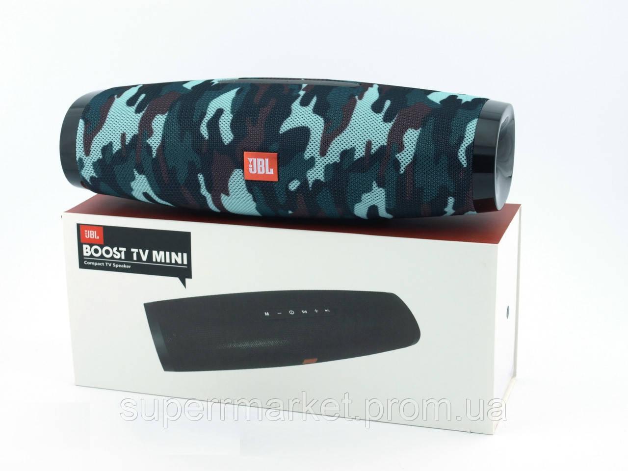 JBL Boost TV Squad mini 20W копия, портативная колонка с Bluetooth FM MP3, камуфляжная