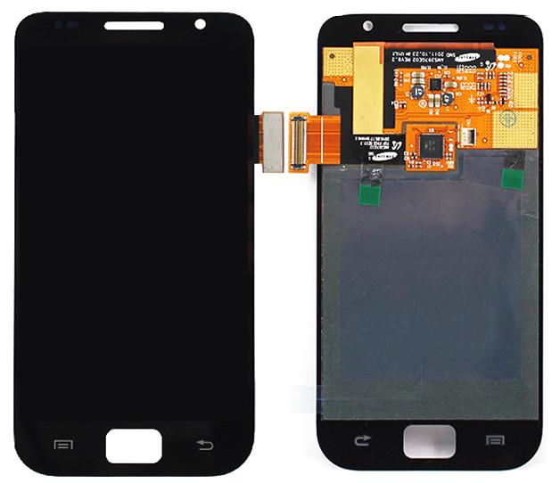 Дисплей модуль Samsung I9000 Galaxy S, I9001 Galaxy S Plus в зборі з тачскріном чорний
