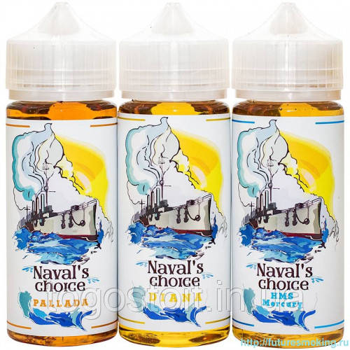 "Naval's Choice 120ml Оригинал + 2g USA Cotton ""Puff's Lab"""