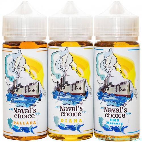"""Жидкость Naval's Choice 120ml Оригинал + 2g USA Cotton """"Puff's Lab"""""""