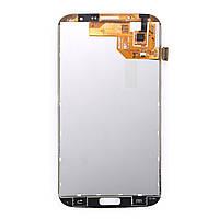 Дисплейний модуль для телефону Samsung I9200 Galaxy Mega 6.3, I9205 Galaxy Mega 6.3 в зборі з тачскріном білий