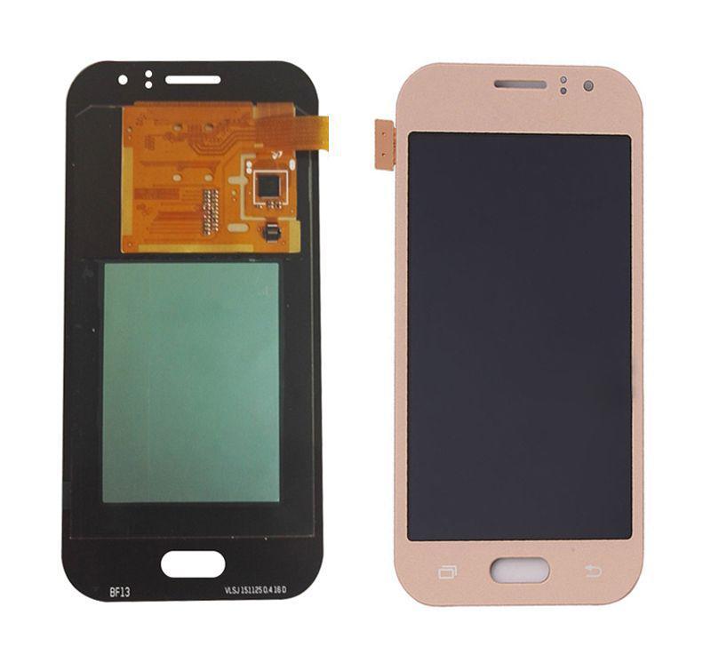 Дисплей Samsung J110G Galaxy J1 Ace модуль в сборе с тачскрином, золотистый