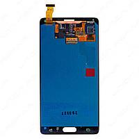 Дисплей модуль Samsung N910H Galaxy Note 4 в зборі з тачскріном, білий