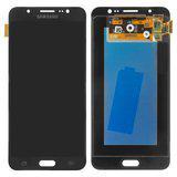 Дисплейний модуль для Samsung J710F/DS Galaxy J7 (2016) GH97-18855B/GH97-18931B в зборі з тачскріном, чорний