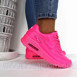 Женские кроссовки Nike Air Max 90 розовые реплика