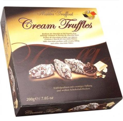 Шоколадно-кремовые трюфели Maitre Truffout 200 г, фото 2