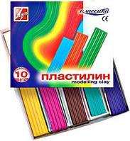 Пластилін Промінь Класика 10 кольорів