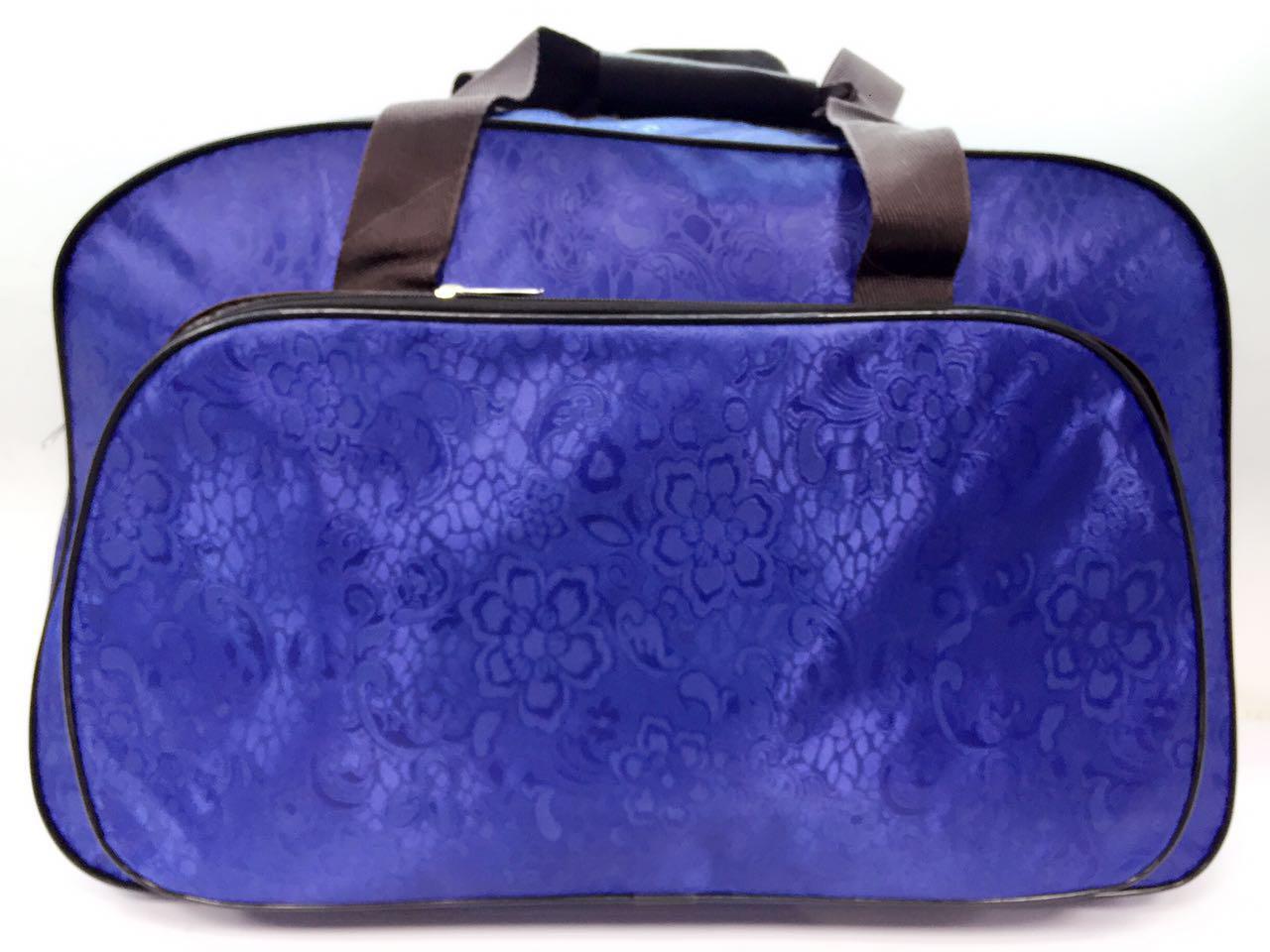Дорожная сумка вместительная синяя