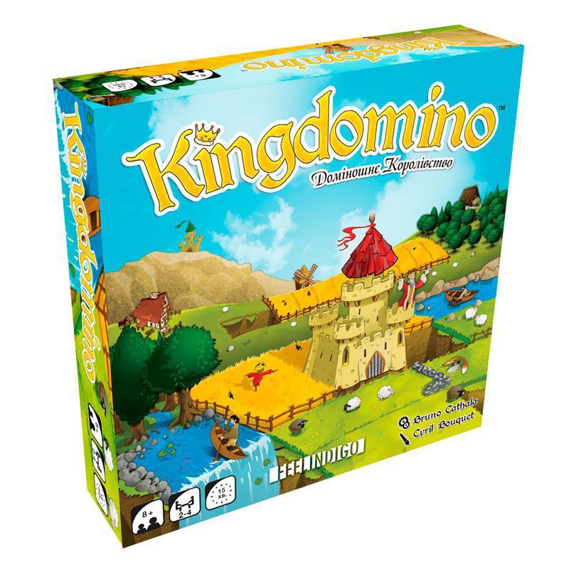 Настільна гра Feelindigo Kingdomino. Доміношне королівство FI17009