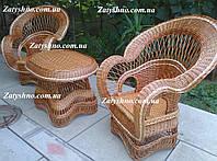 Кухонная плетеная мебель из лозы, фото 1