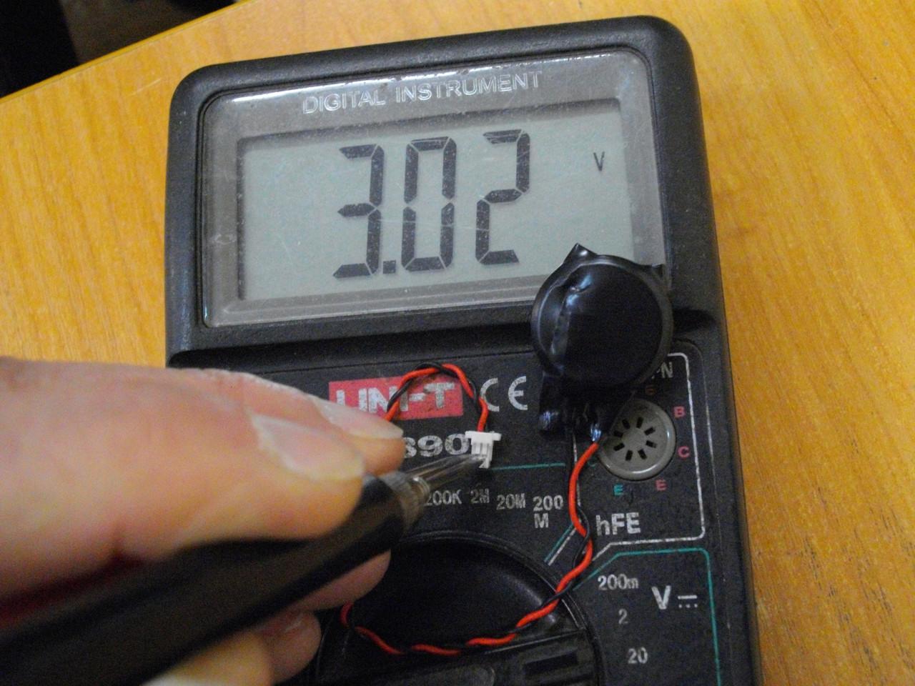 Батарейка 023.20009.0001 биоса DELL Latitude 3150