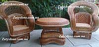 Мебель садовая коричневая