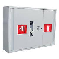 Шкаф пожарный встроенный (с задней стенкой) 600х800х230