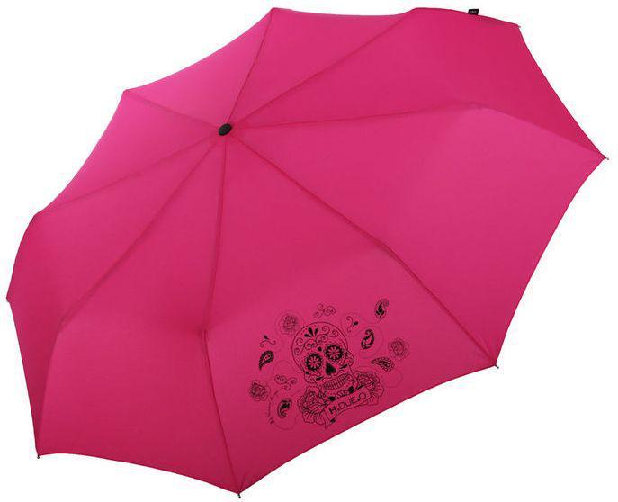 Механический женский зонт H DUE O 144-1