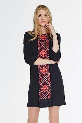 Платье с мозаикой