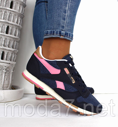 Женские кроссовки под Reebok Classic  реплика, фото 2