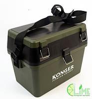 Рыбацкий зимний ящик, Konger small, фото 1