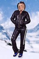 Зимний женский спортивный костюм на синтепоне