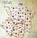 Женский байковый спальный комплект, фото 4