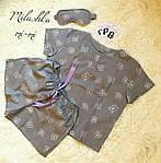 Женский байковый спальный комплект, фото 2
