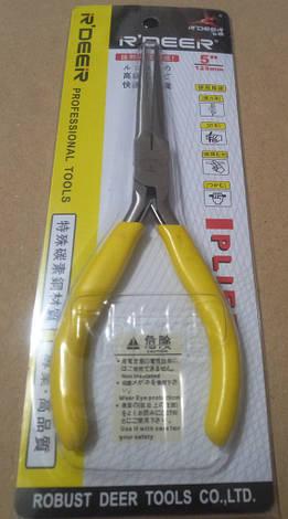 Длинногубцы R'Deer RT-505, жёлтые, фото 2